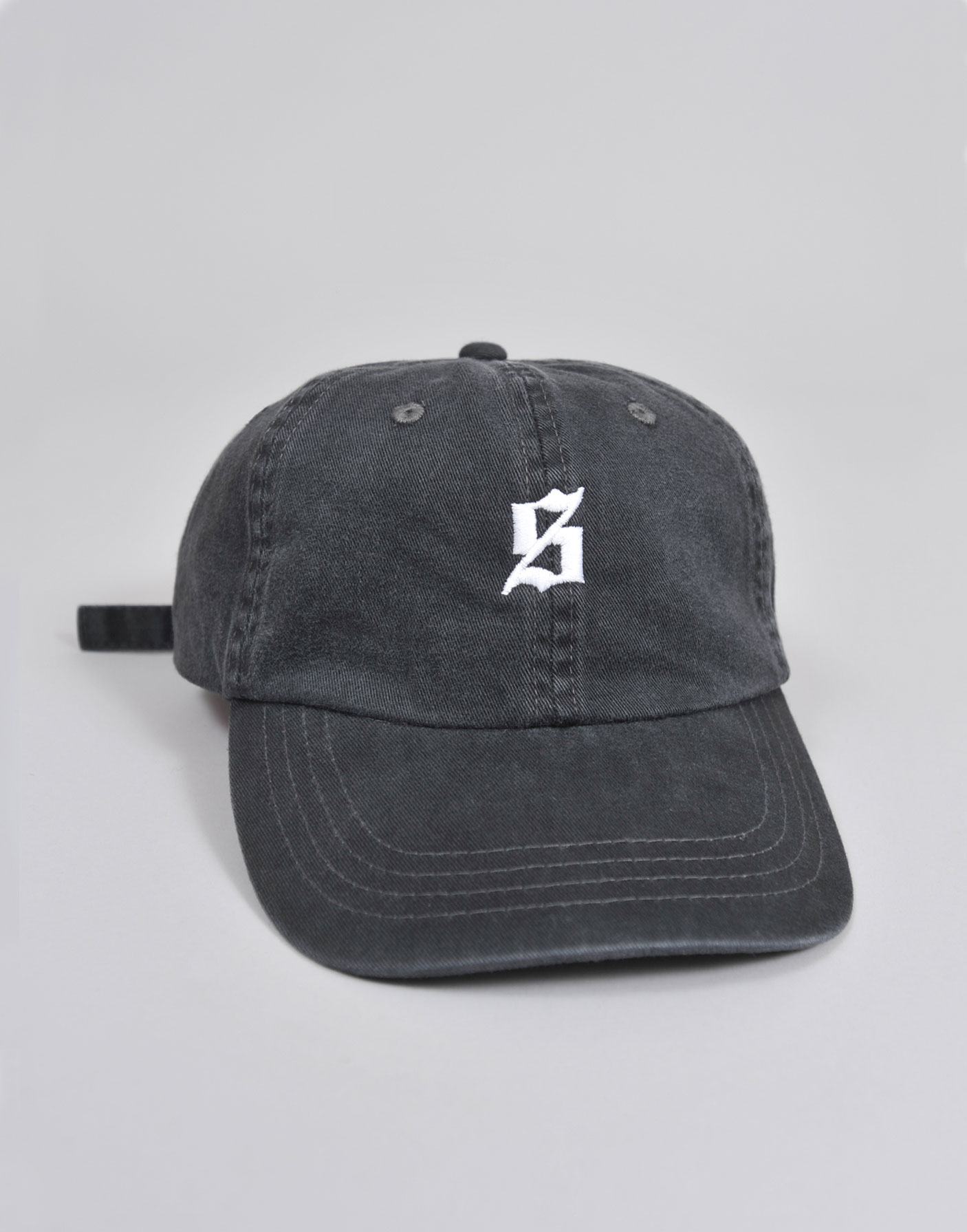 Set S Polo Cap - Set Black 6 Panel Polo Cap worn by Skepta - Set S Logo 2a4a51b9657