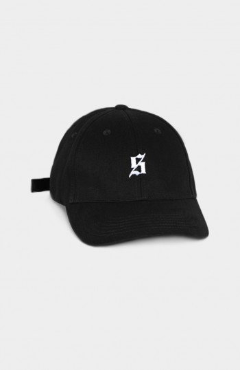 Set S 6 Panel Black Cap