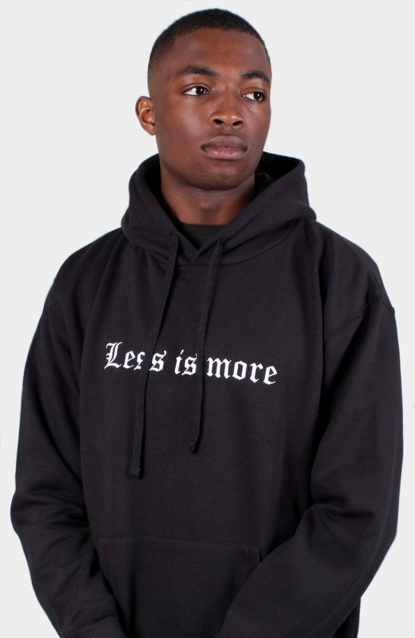Set 'Less is more' Pullover (Black)