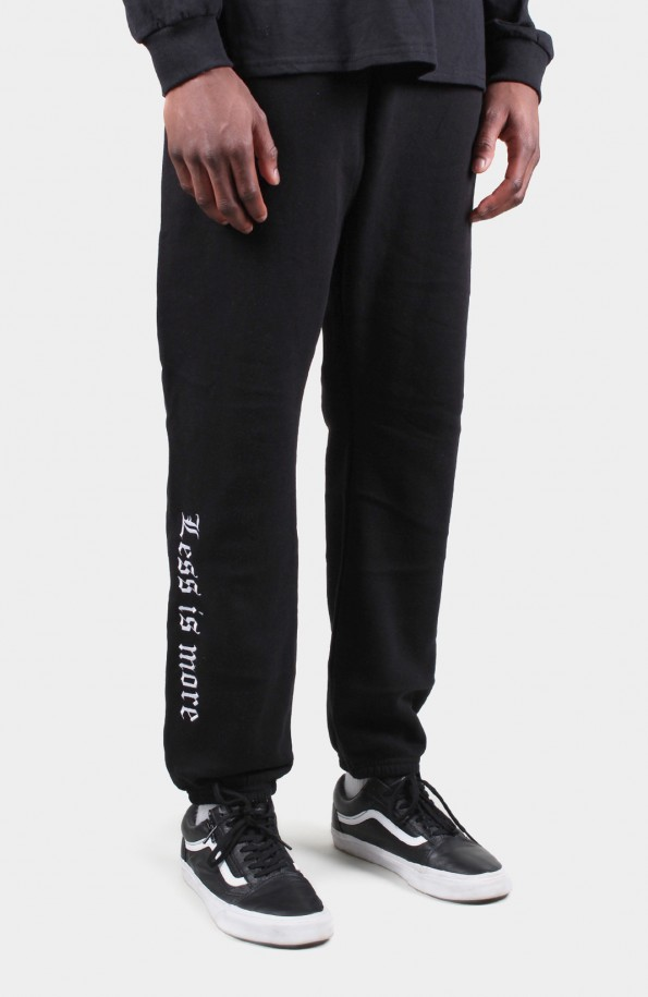 Set Store Black Joggerpants