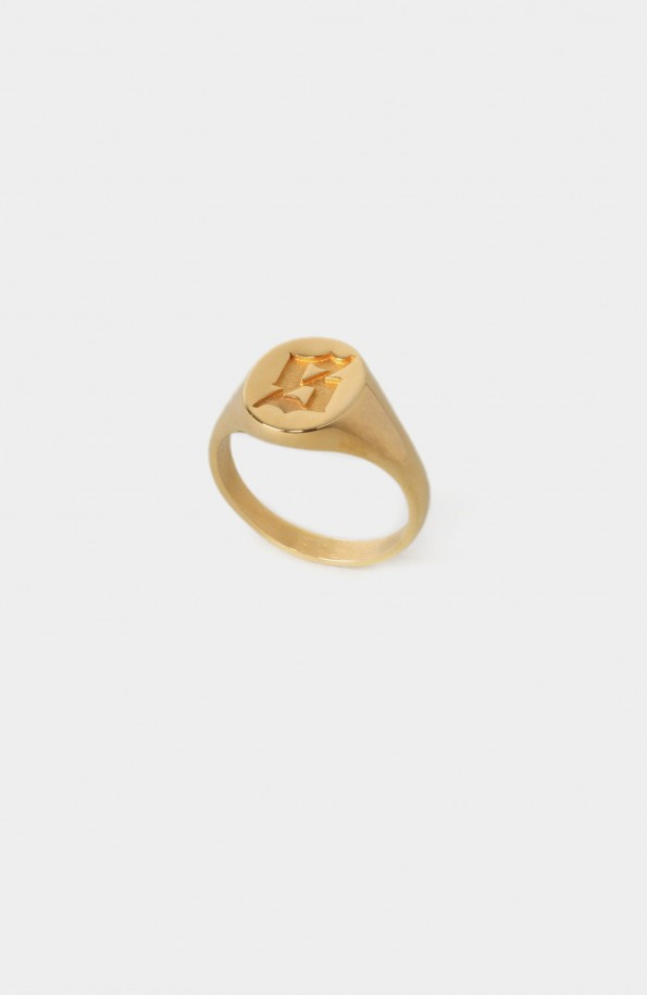 Set Signet Ring (Gold)
