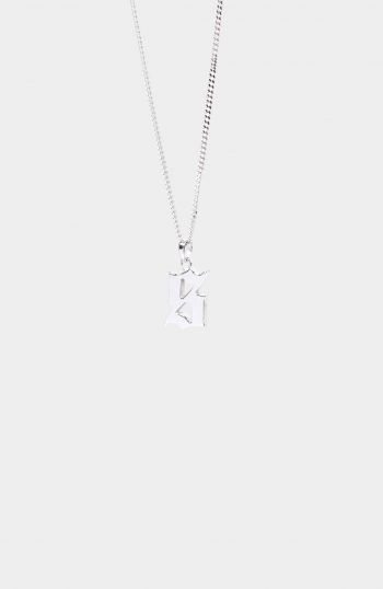 SET SILVER SIGNET NECKLACE
