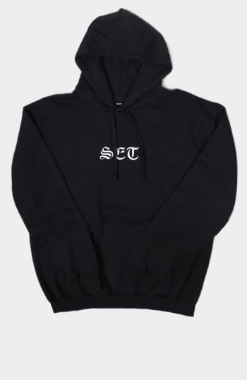 Set Store Black Hoody