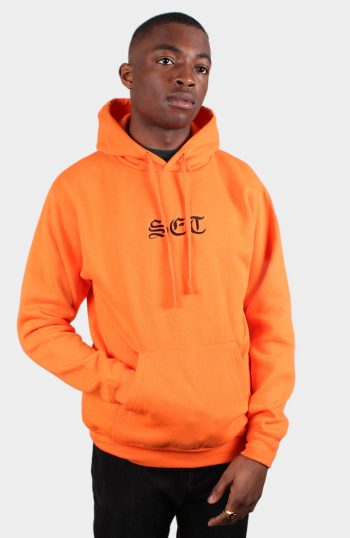 Set Olde English Hoody Pullover Orange