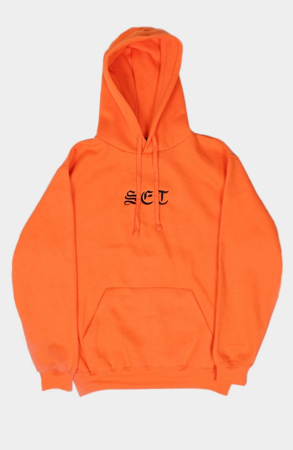 Set Orange Pullover Hoody