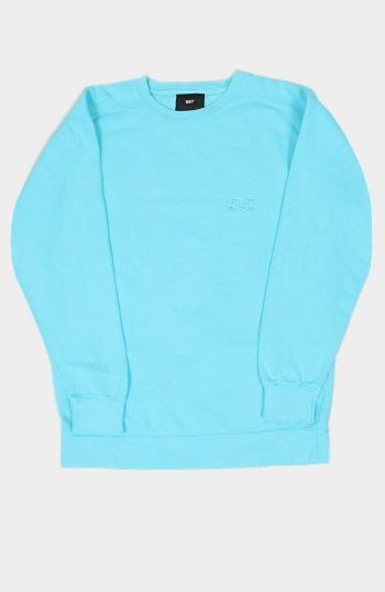 Set Store Blue Oyverdyed Sweatshirt