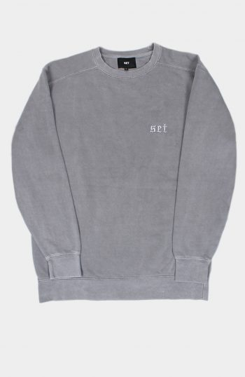 Set Overdyed Sweatshirt Grey