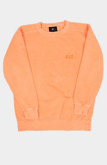 SET OVERDYED SWEATSHIRT