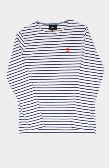 SET Store Striped Tshirt Blue / red