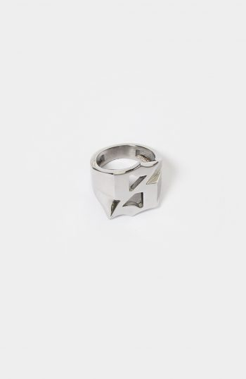 Set S Logo Ring Silver