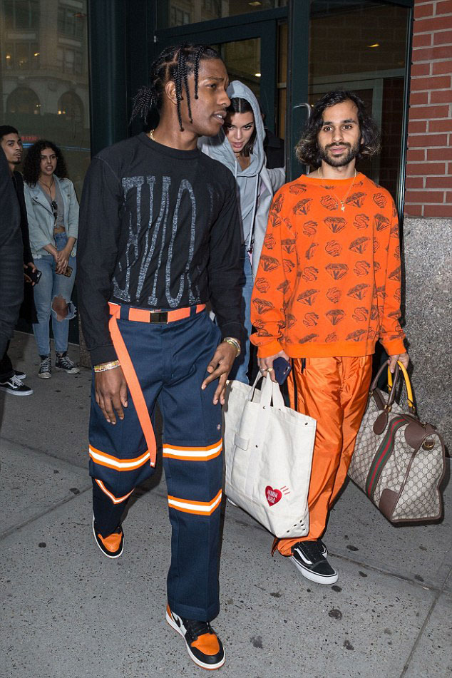 Asap Rocky Wearing Dickies