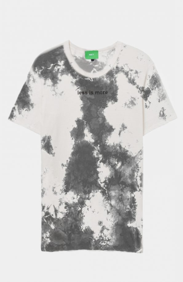 SET Less is more Tshirt – Tie Dye
