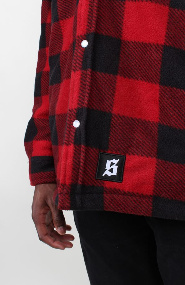 flannel shirt dickies red