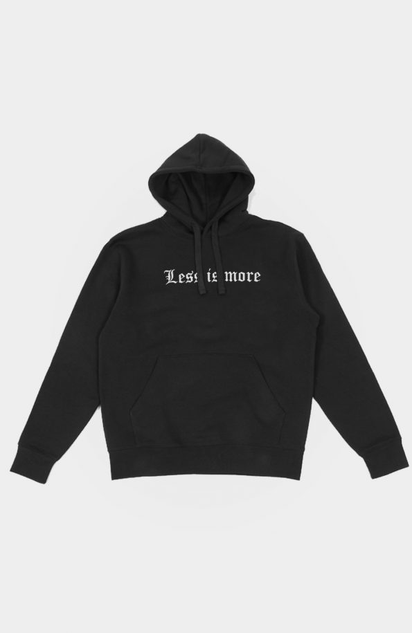 SET Less is more Hoody