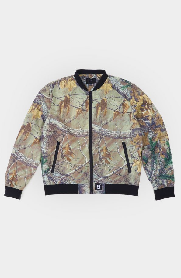 Set Real Tree Bomber Jacket