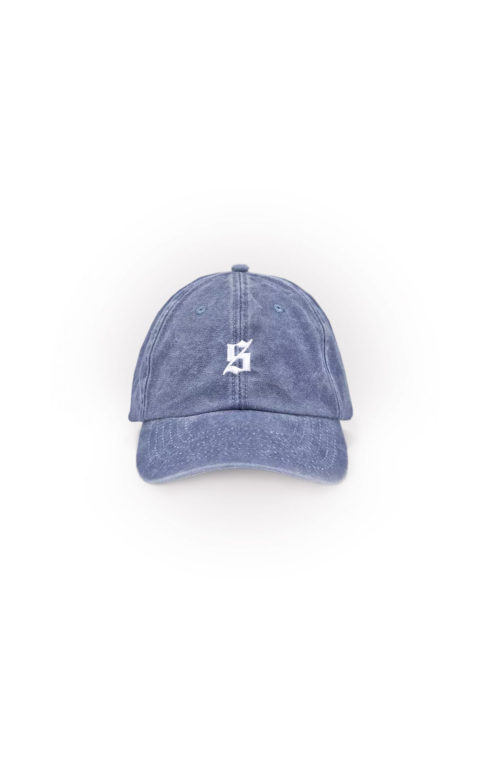 Set S Polo Cap – Washed Blue