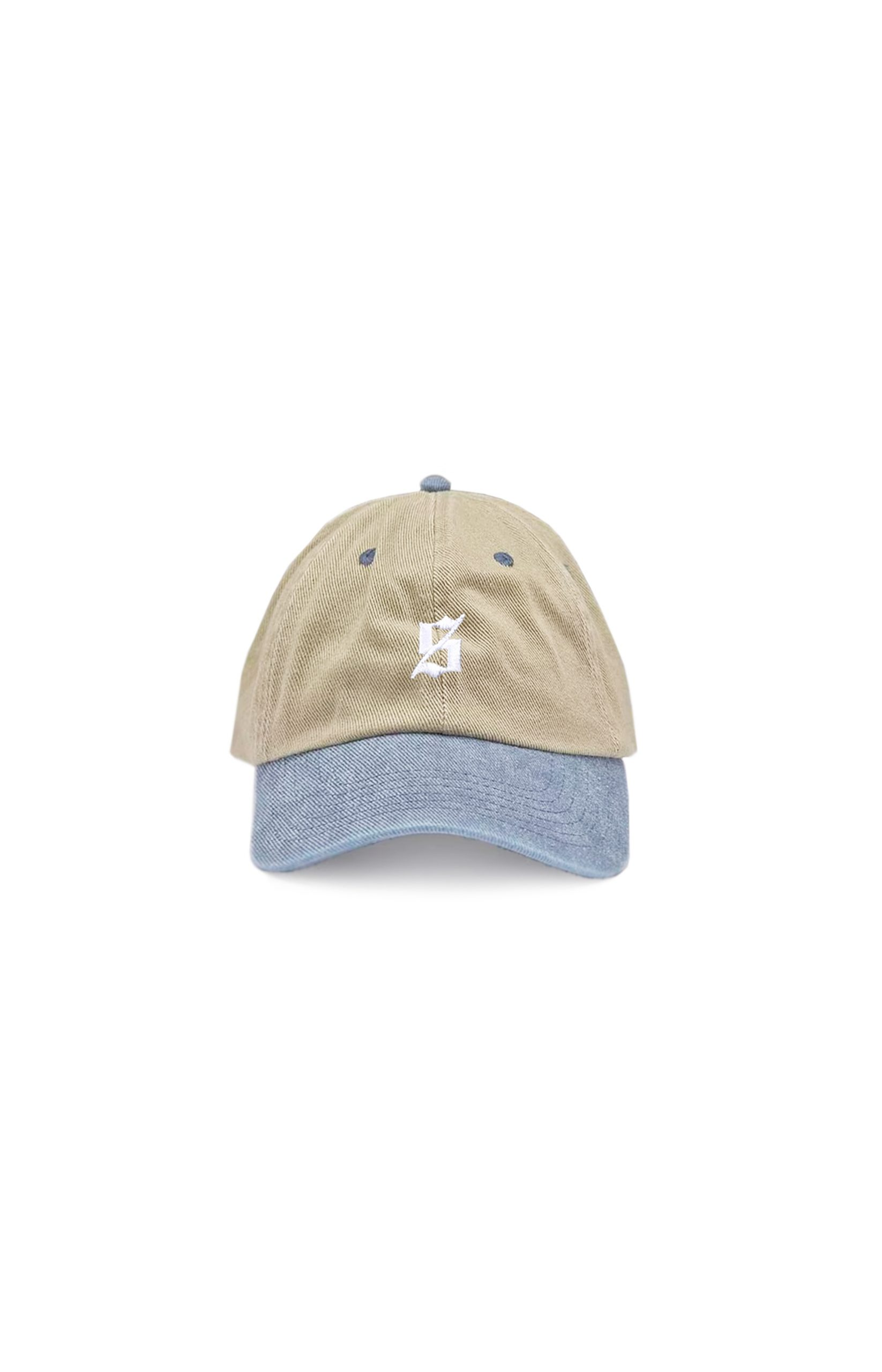 Set S Polo Cap – Washed Two Tone